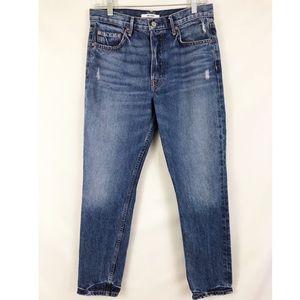 Grlfrnd Karolina High Rise Jeans 28 Petitie